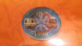 地鐵20周年紀念 模型套裝連車票
