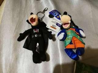 Disney goofy doll helloween 迪士尼高飛哈佬喂可愛公仔共2隻