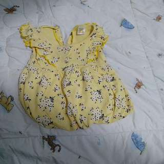 Preloved dress balloon 0-3m