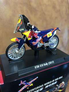 Red Bull經典模型組合 5.KTM450 Rally