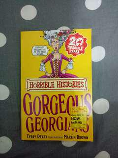 Horrible Histories : Gorgeous Georgians
