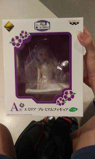 Re:zero summer kuji Prize A Emilia