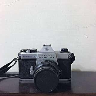 🚚 Pentax SpotmaticF 底片相機(含鏡頭)
