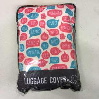 Printed Luggage Cover (Large)
