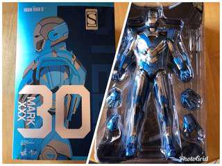 Mib hot toys Iron man blue steel