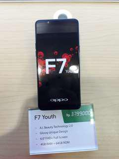 Oppo F7 Youth promo bunga 0% dan 0.99% untuk cicilan tanpa kartu kredit