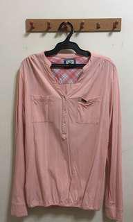 Lee Pipes Baby Pink Top