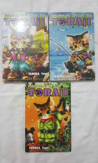 The Adventure of Cat Mix TORAJI no.1, 2 & 4