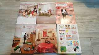 6 Interior books by Japanese