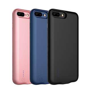 External Power Bank Battery Charger Case  iPhone 8 7 Plus