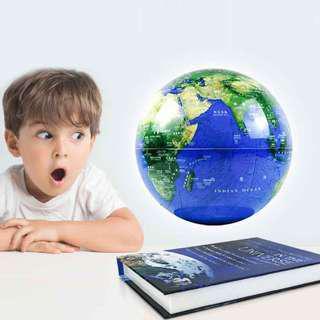 書本 發光 地球儀 磁浮地球儀 懸浮地球儀  送禮裝飾品展示  開店 送禮 裝飾品 展示 風水