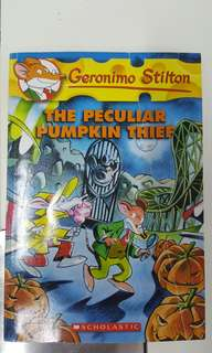 Geronimo Stilton- The Peculiar Pumpkin Thief