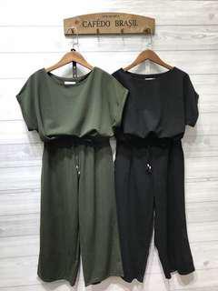🚚 顯瘦♥️兩件套 (綠)
