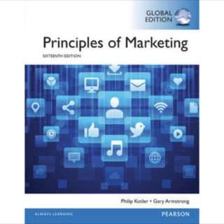 Principles of marketing sixteenth (16) edition Pearson (global edition)