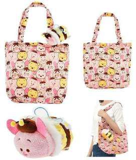 豬仔 小熊維尼 環保袋 piglet winnie the pooh