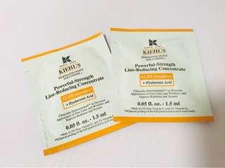 Kiehl's Kiehls 醫學雙維他命C抗氧亮活精華Sample