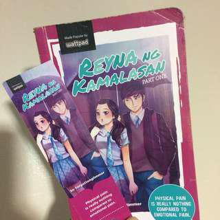 WATTPAD BOOK (Reyna ng Kamalasan Part one)