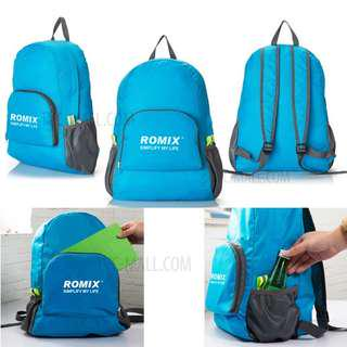 Folding Travel Nylon Splash-proof Backpack Bag