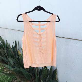 【L.A. HEARTS】 Salmon Tank Top