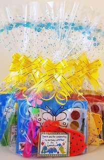 Goodie bag, goody bag, bubbles, children's day,  diy craft birthday pack