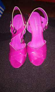 Primadonna Fuschia Pink High Heels