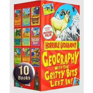 🚚 Horrible Geography - Collection Boxset Gift - 10 Books ( All Paperback Books and Brand New )
