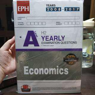 H2 Economics Ten year series (TYS) Yearly answers