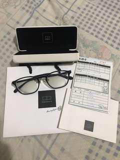 OwnDay 黑色大框眼鏡 抗藍光
