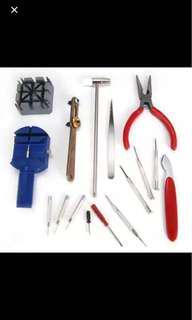 16 in 1 Watch Repair Tool Kit