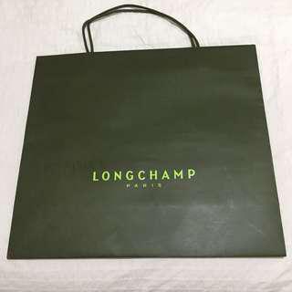 Paper Bag Longchamp