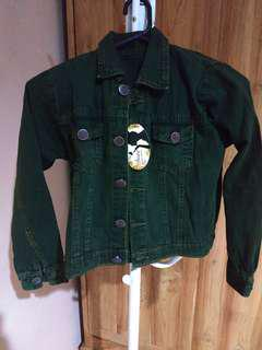 Jacket Jeans Warna Army