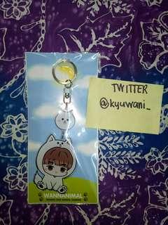 Ha Sungwoon Wannanimal Charm Keychain