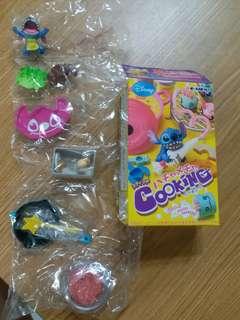 Re-ment  rement Disney Stitch Enjoy cooking 史迪仔 菓子玩具擺設 2 號