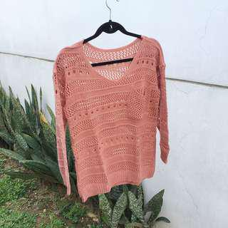 【NAVA】 Rose Knitted Sweater