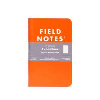 Field Notes - Expedition edition (Three waterproof notebooks).