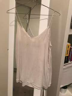 Zara Off-White Singlet