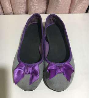 Kids Purple/Gray Sandals