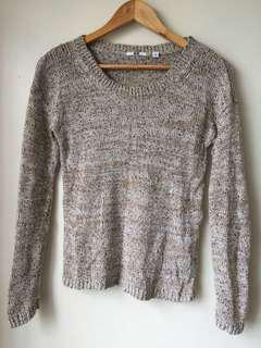 Uniqlo Knitted Pullover (beige)