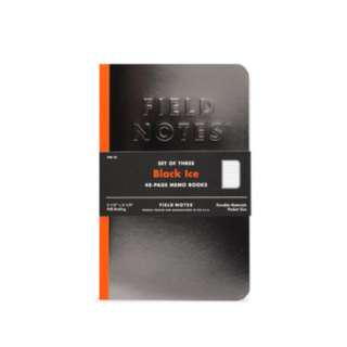 Field Notes - Black Ice (Limited Edition).