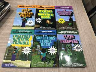 Minecraft: An unofficial gamer's adventures (Series of 6 books)