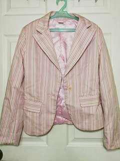 Mango pink blazer
