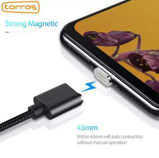 TORRAS adapter magnetic charger / micro usb cable wire cord