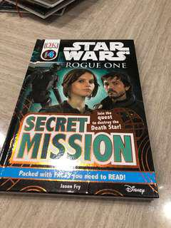 Disney Star Wars Rogue One - Secret Mission book