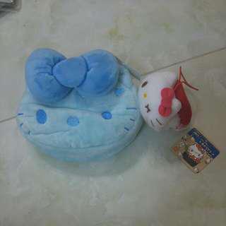 Hello Kitty袋仔 + 吊飾 / 米奇 袋+ 吊飾