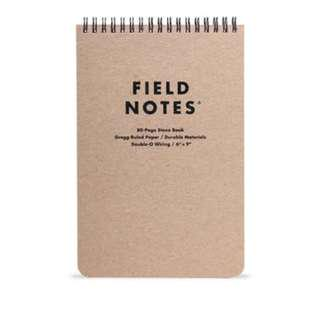 Field Notes - The Steno (single)