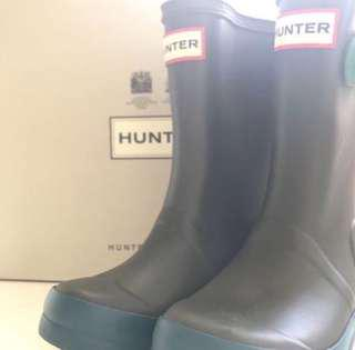 Hunter 雨靴 水靴 rainboot kid kids EU25