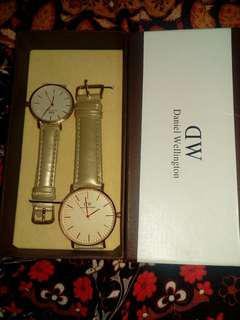 Daniel Wellington Watch couple (Gold)