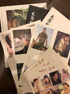 🚚 太陽後裔寫真+小說 送劇照簽名卡、貼紙