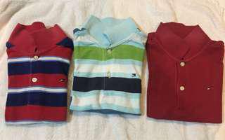 Tommy Hilfiger kid's collared shirts (4T)