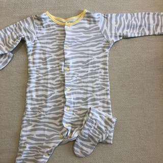 Mothercare Unisex Pyjamas sz 3-6months